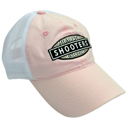 Image for Pink Midsouth Shooters Hat With White Mesh Back