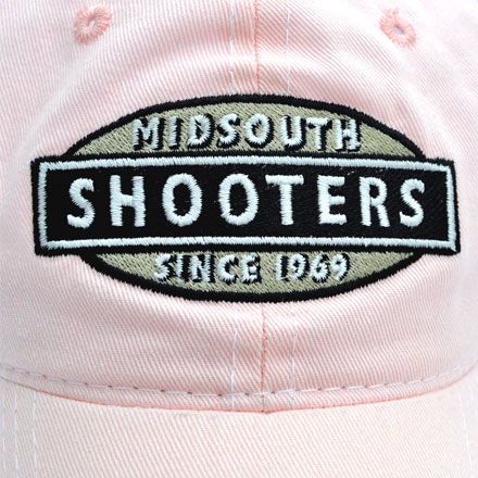 Pink Midsouth Shooters Hat With White Mesh Back