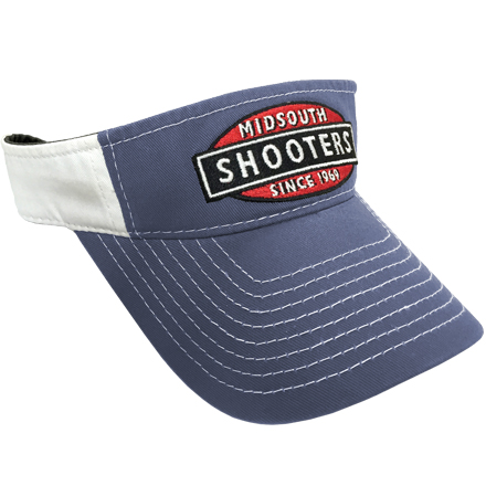 Royal Blue Midsouth Shooters Visor With White Back