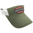 Olive Drab Midsouth Shooters Visor With White Back