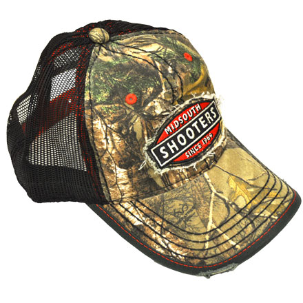Image for Realtree Xtra Camo Midsouth Shooters Hat With Black Mesh Back (Distressed)