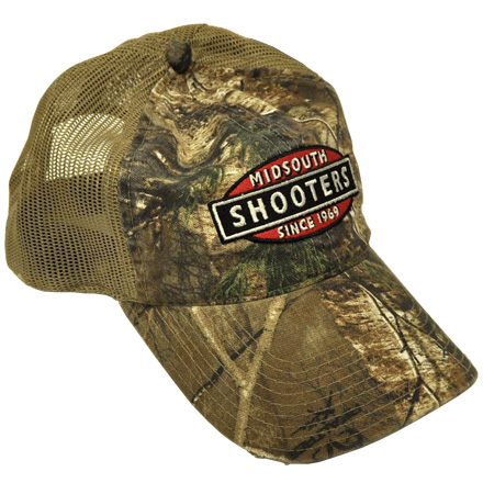 Image for Realtree Xtra Camo Midsouth Shooters Hat With Tan Mesh Back (Distressed)