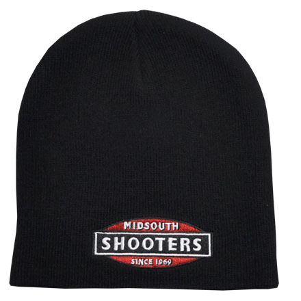 Black Midsouth Shooters Beanie (Stocking Cap)