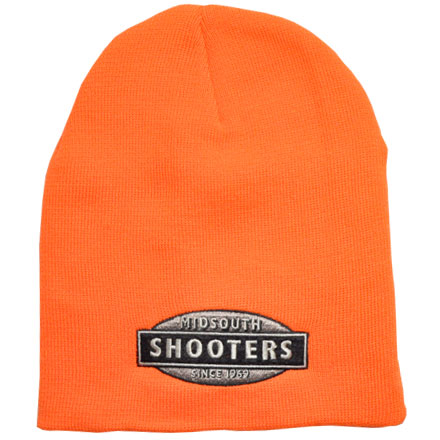 Blaze Orange Midsouth Shooters Beanie (Stocking Cap)