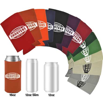 Midsouth Shooters 16oz Tall Boy Single Coozie (Assorted Colors)