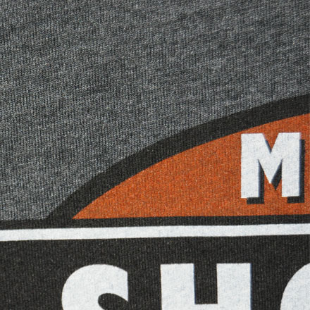 Limited Edition Midsouth Shooters Charcoal Heathered T-Shirt (Extra Soft and Light Weight) Large