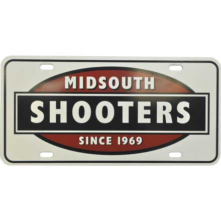 Midsouth Logo License Plate