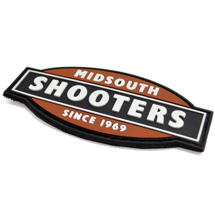 Midsouth Logo PVC Velcro Backed Patch
