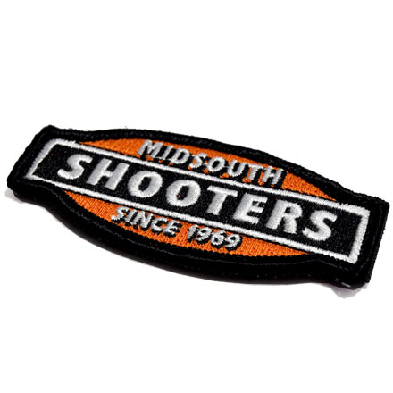 Midsouth Logo Embroidered Velcro Backed Patch