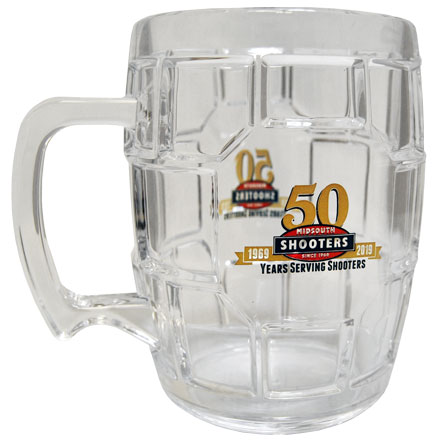 50th Anniversary Midsouth Clear Acrylic Turtlemug (24 Oz)