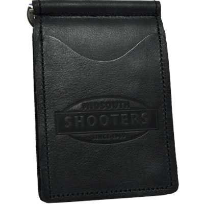 Midsouth Shooters Black Full Grain Leather Wallet