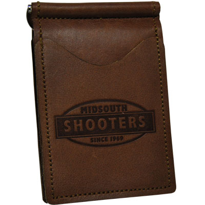 Midsouth Shooters Brown Full Grain Leather Wallet