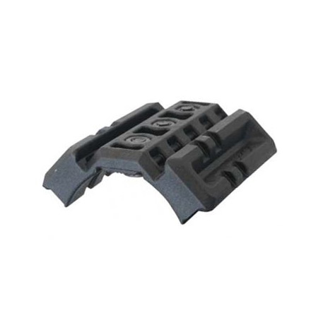 Dual Picatinny Attachment For AR-15/M16/M4 Handguard (Black Finish)