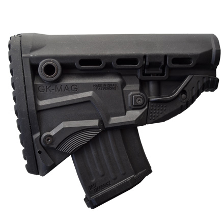 AK 47 Survival Buttstock With Built-In Magazine Carrier With Free 10 RD Magazine