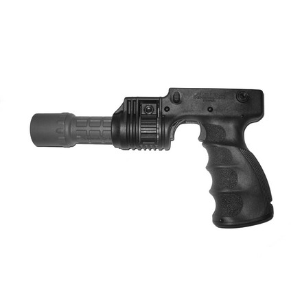 "Tactical Foregrip With 1"" Weapons Light Adapter With On/Off Trigger (Black)"