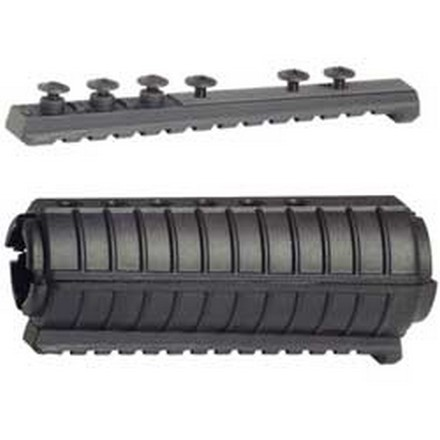 Parallel Picatinny Rail For AR-15/M4 Standard Length (Black)