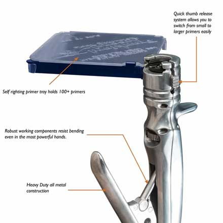 Platinum Series Perfect Seat Hand Primer (Includes Shell Holders)