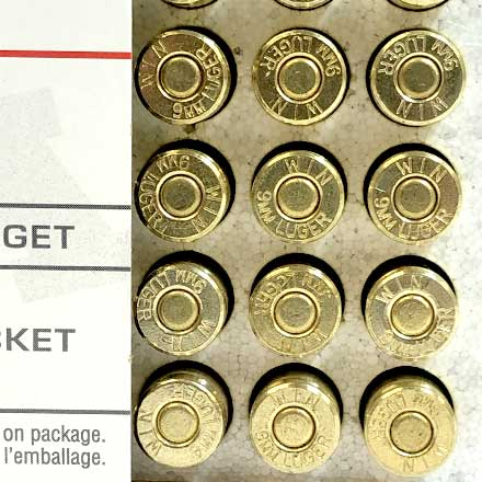 9mm 147 Grain Full Metal Jacket Flat Nose 50 Rounds