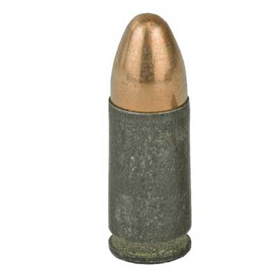 9mm 115 Grain USA Forged Steel  Full Metal Jacket 50 Rounds