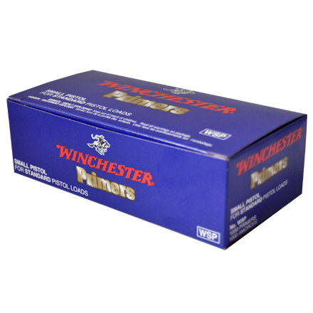 Image for Winchester Small Pistol Primers 1000 Count