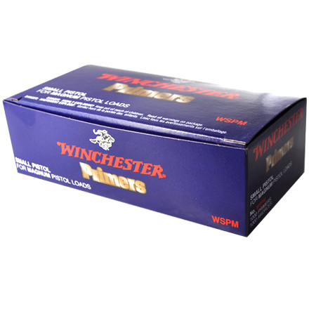 Image for Winchester Small Pistol Magnum Primers 1000 Count