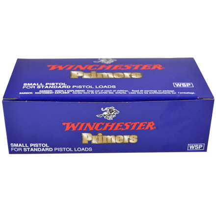 Winchester Small Pistol Primers 1000 Count