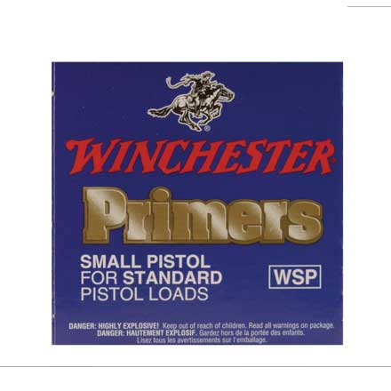 Winchester Small Pistol Magnum Primers 1000 Count