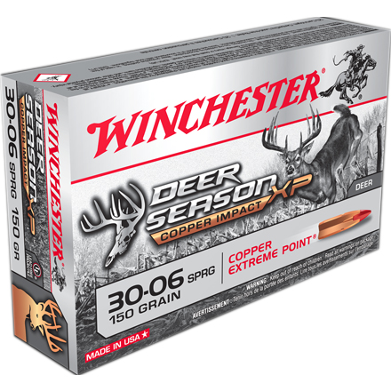 30-06 Springfield 150 Grain Deer Season XP Lead Free 20 Rounds