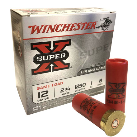 Winchester Super-X Upland Game Load 12 GA 2 3/4