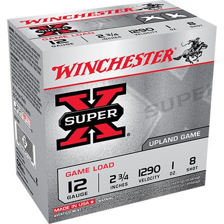 Winchester Super-X Upland Game Load 12 GA 2 3/4