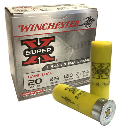 Winchester Super-X Upland Game Load 20 GA 2 3/4