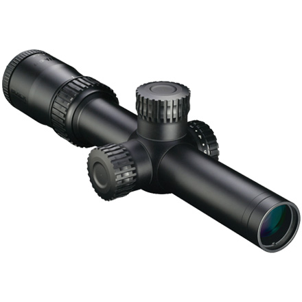 Black Force 1000 1-4X24 30mm Illuminated SpeedForce Reticle Matte Finish