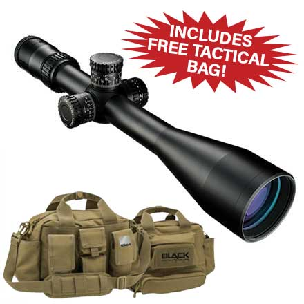 Black FX1000 6-24x50SF Illuminated FX-MRAD Reticle FFP Matte