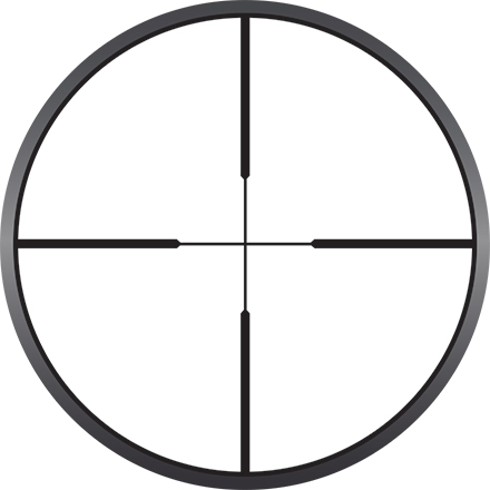 Prostaff P3 4-12x40mm Nikoplex Reticle  Matte Finish