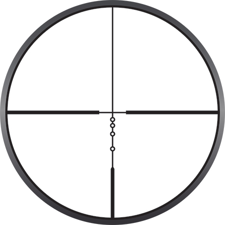 Prostaff P5 2.5-10x42 BDC  Reticle Matte Finish