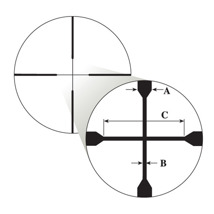 Prostaff 3-9x40mm Nikoplex Reticle Matte Finish