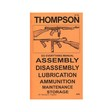 Do Everything Manual For Thompson SMG .45