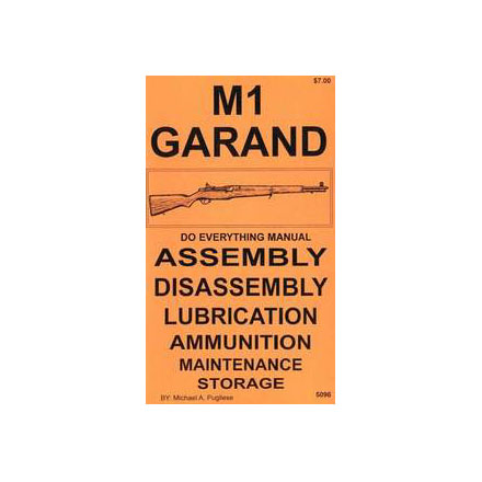 Do Everything Manual For M1 Garand