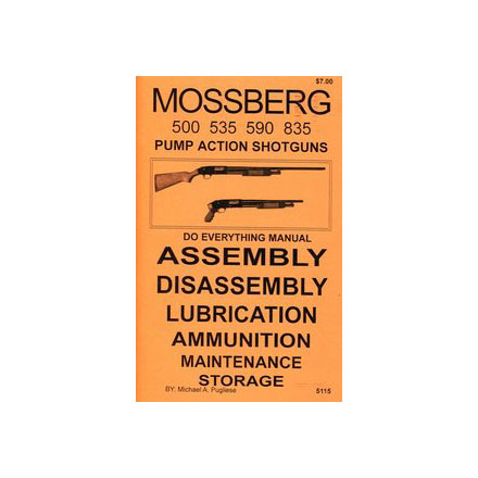 Image for Do Everything Manual For Mossberg Pump Shotgun