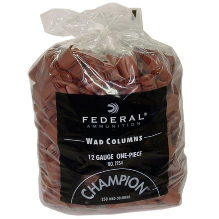 12 Gauge 1 1 4 Oz Load Wads 250 Count By Federal