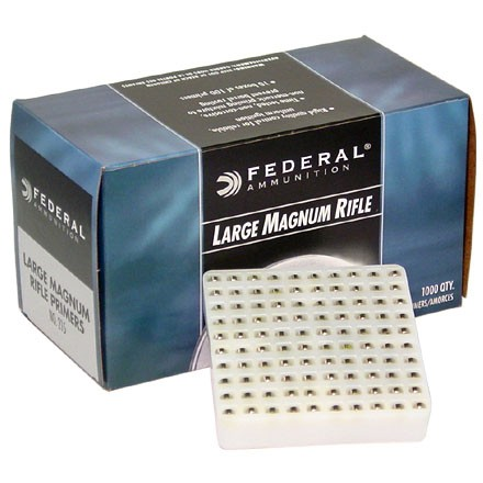 Magnum Large Rifle Primer 1000 Count