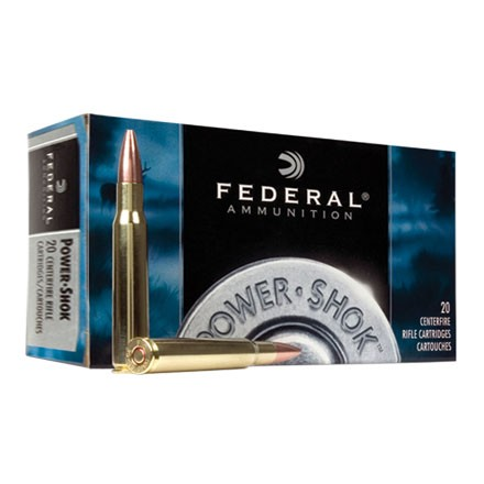 270 Winchester Short Mag (WSM) 130 Grain Power-Shok Soft Point 20 Rounds