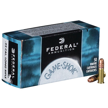 22 LR (Long Rifle) 40 Grain Hi-Velocity Classic 50 Rounds