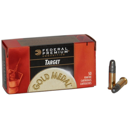 22 LR (Long Rifle) 40 Grain Solid Target 50 Rounds