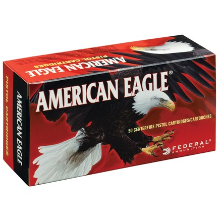 American Eagle 357 Sig 125 Grain Full Metal Jacket 50 Rounds