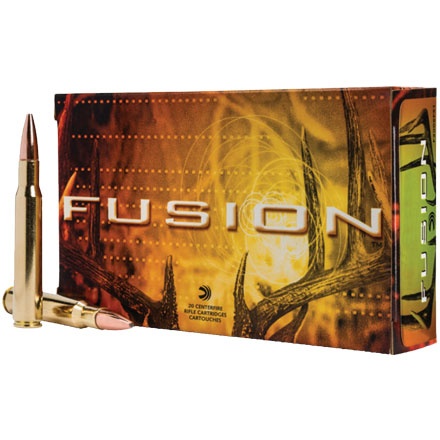 300 Winchester Short Mag (WSM) 150 Grain Fusion 20 Rounds