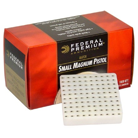 Gold Medal Magnum Small Pistol Match Primer (1000 Count)