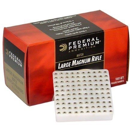 Gold Medal Magnum Large Rifle Match Primer #GM215M (1000 Count)