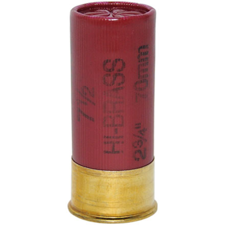 "Image for 12 Gauge 2-3/4"" 1-1/4 Oz Classic Lead HI-Brass  #7.5 Shot 25 Rounds"