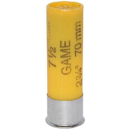 "20 Gauge 2-3/4"" 7/8 Oz Game-Shok Game Load #7.5 Shot 25 Rounds"